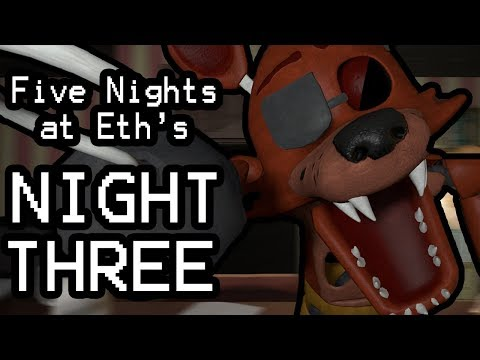 Five Nights at Eth's (Night 3) || WHO TURNED OUT THE LIGHTS?!?