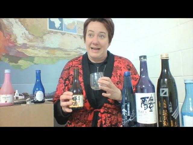 Sake Sessions: Ozeki Taru Sake- Barrel Aged Sake!