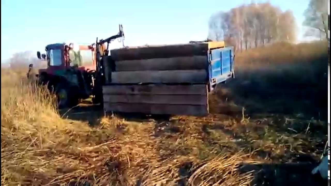 Кран на трактор своими руками фото 980