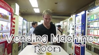 Vending Machine Room In Tokyo | Japan