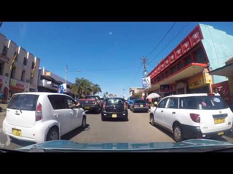 Driving through Limbe