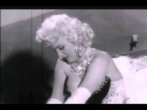 Marilyn Monroe Rare Radio Interview 1955 - Rare Footage Riding An Elephant And On The Farm 1955/56