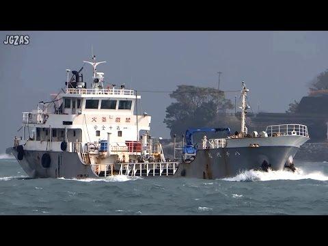 YACHIYO MARU 八千代丸 Oil products tanker 油槽船 上野トランステック 関門海峡 2015-FEB