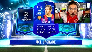 OMG I PACKED BLUE MESSI!! 81+ UCL PACKS!! FIFA 21