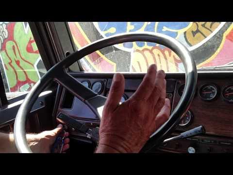 Air Brake Test/ In Cab Inspection (Class A) Mario Ramirez--Coast To Coast Trucking School CA