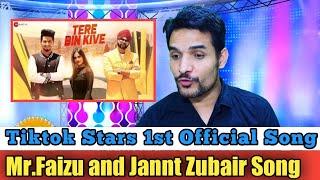 Tere Bin Kive | Team 07 Music | Ramji Gulati | Jannat Zubair & Mr.Faisu | Reaction /Review!!