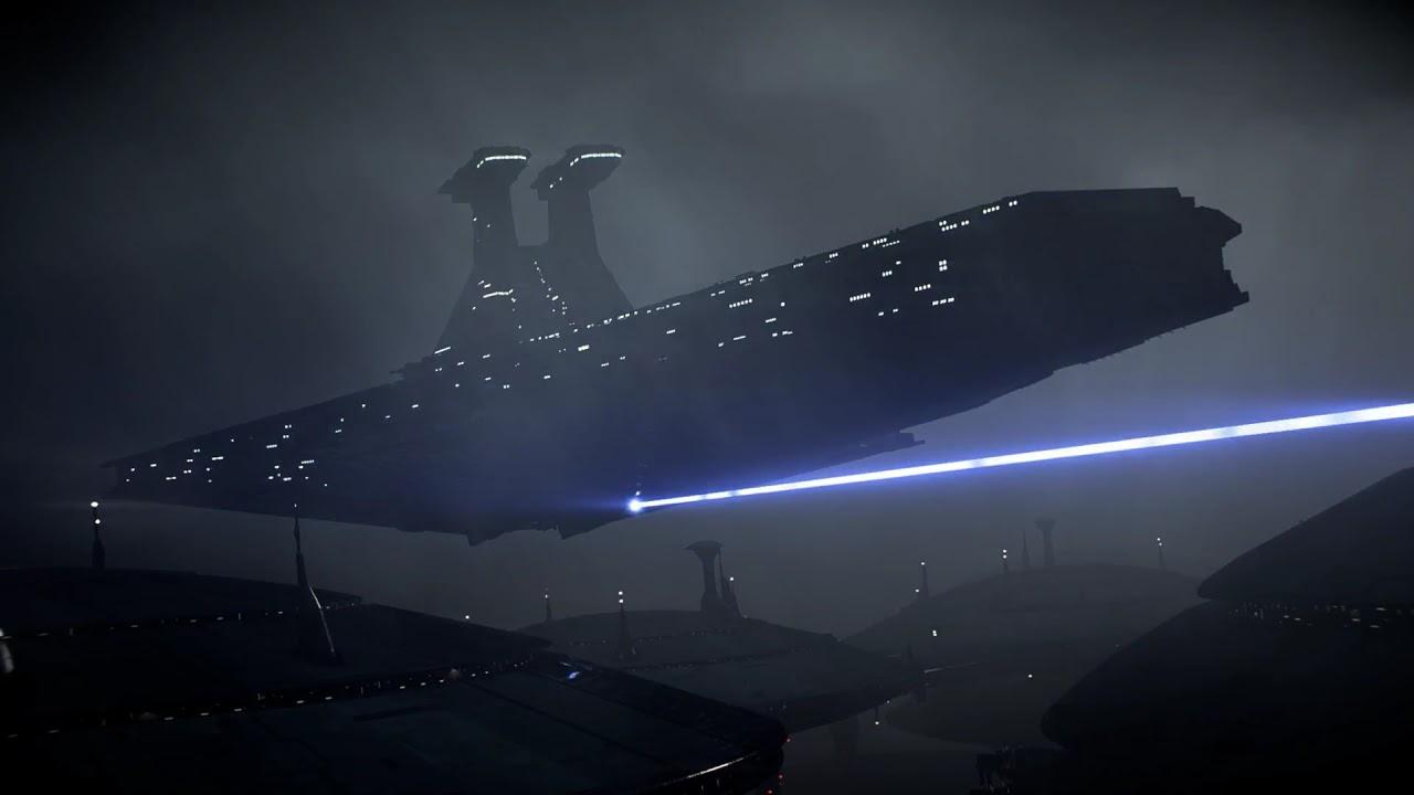 Venator Class Star Destroyer Star Wars Live Wallpaper Youtube
