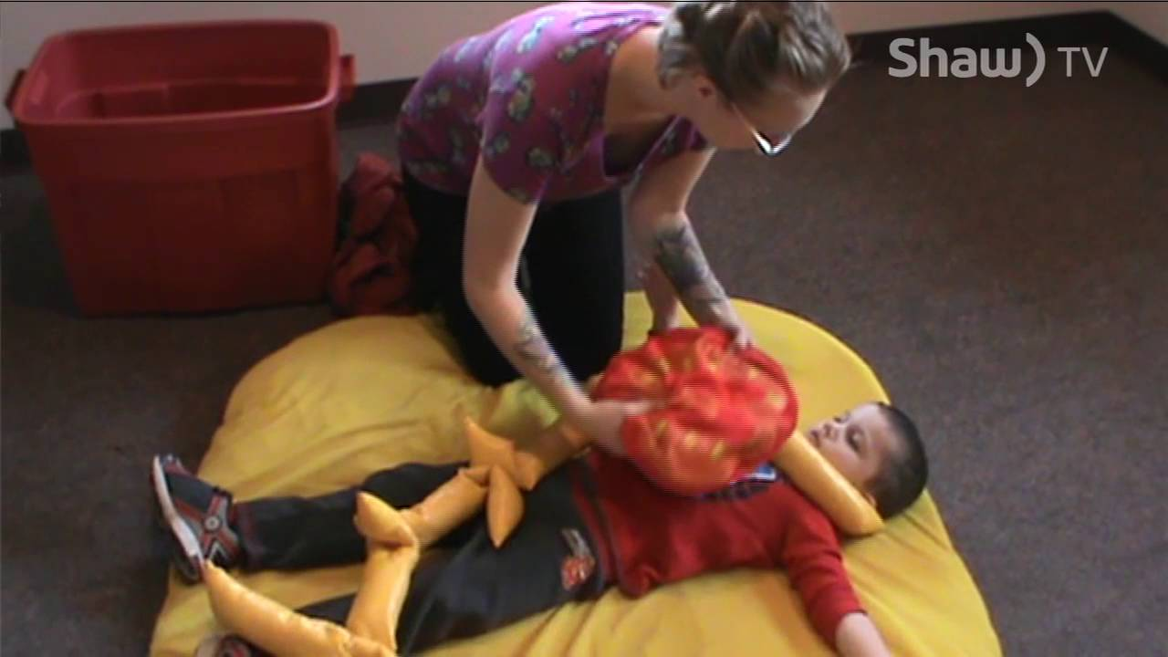 Learning How to Calm Down in our Autism Therapy Program