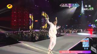[720p]151231 Wu Yi Fan Kris and William Chan-dance battle and Everybody performance at HunanTV