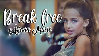 Ariana Grande - Break Free ft Zedd - (8 years old) ARIANN & 5DB