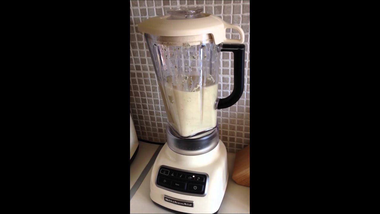 kitchenaid diamond blender almond youtube