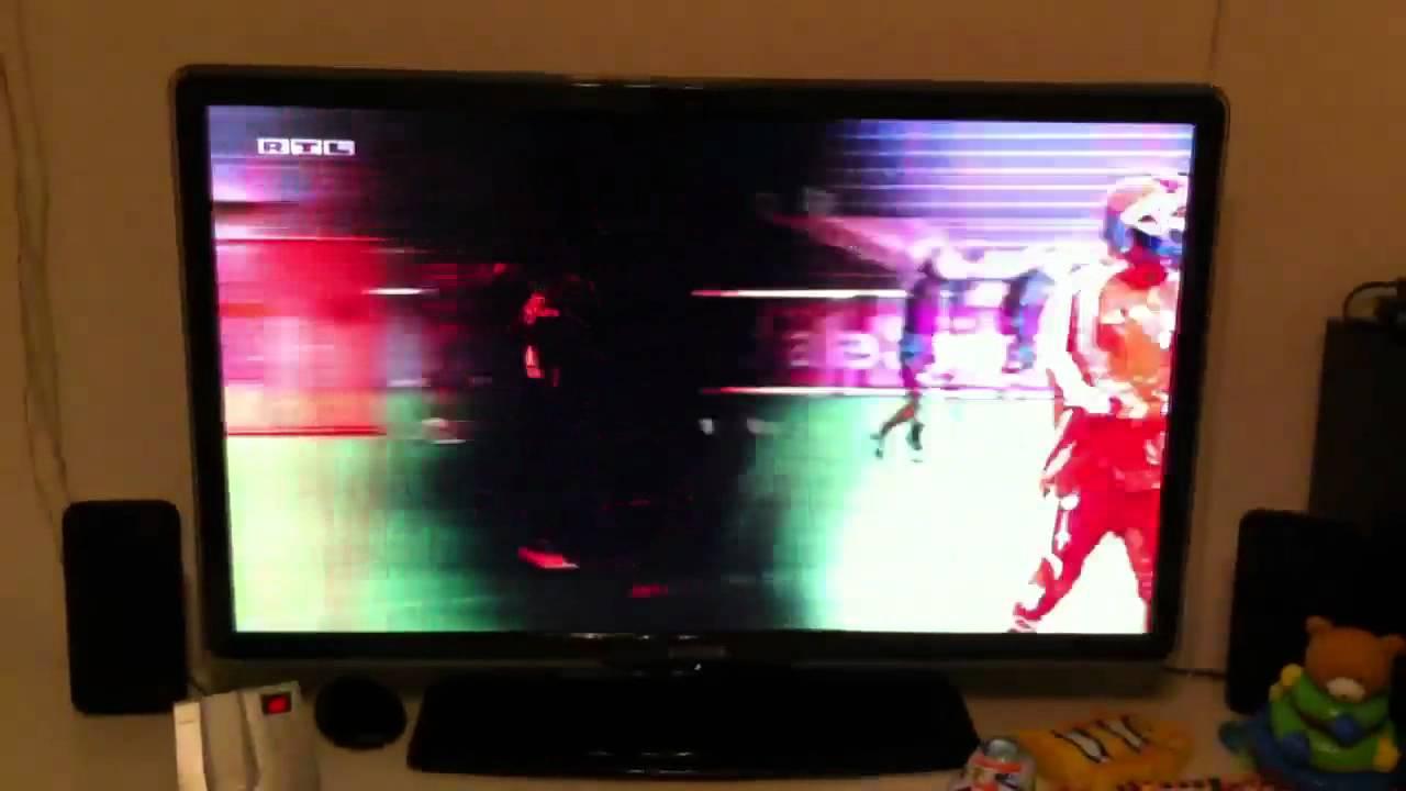 Samsung Fernseher Flackert