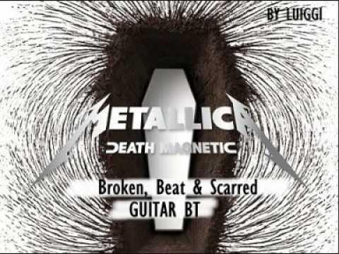 Metallica - Broken, Beat & Scarred (Guitar Backing Track)