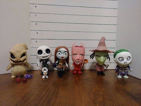 Funko 5 Star The Nightmare Before Christmas Figures  Full Set Review