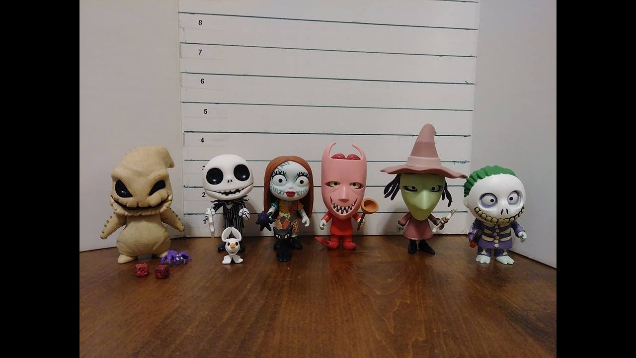 Funko 5 Star The Nightmare Before Christmas Figures Full Set Review ...