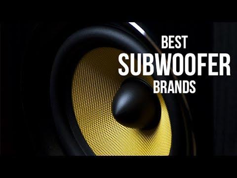 Top 5 Best Subwoofer Brands of 2017