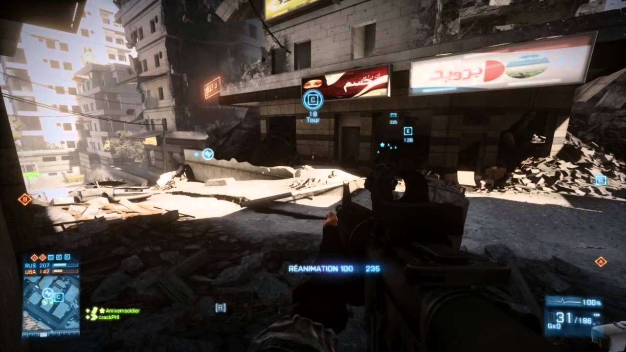 ► Gameplay déjanté sur Battlefield 3 Aftermath [FR]