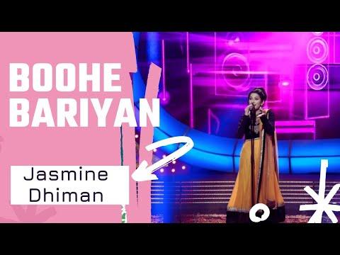 Boohe Bariyaan | Jasmine Dhiman | Voice Of Punjab Season 7