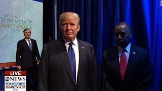 WATCH: Botched GOP Debate Entrance Is Hilariously Awkward