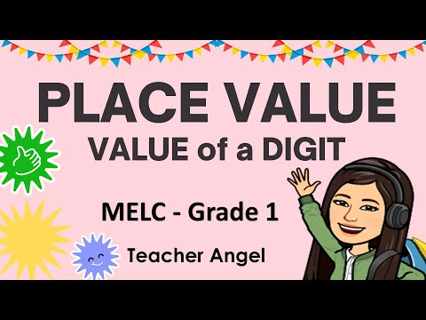 MELC - BASED GRADE 1|PLACE VALUE AND VALUE|VALUE OF A DIGIT