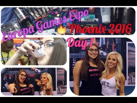 Europa Expo Phoenix 2016 Experience: Day 1 | Taking Shots, Meeting Buff Bunny, TIME OF MY LIFE!