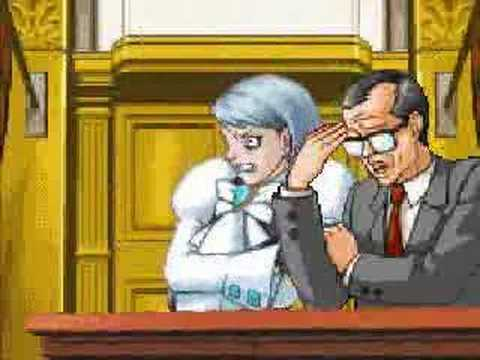 Phoenix Wright Boot To The Head Youtube