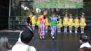 Buntes Wochenende 2011, дети 3-5 лет, первый год обучения