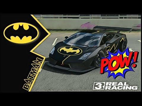 Real Racing 3 Car Customization: Lamborghini Gallardo LP560 GT3 | BATMAN