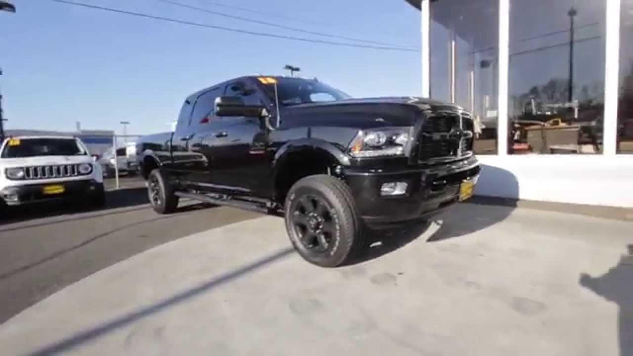 2016 dodge ram 2500 laramie black gg120516 mt vernon skagit youtube - Dodge Ram 2500 Black Edition