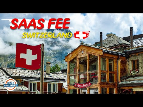 Discover Saas Fee Switzerland   Our Mystery Day Trip Revealed!