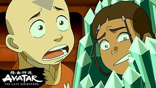 Aang Battles Bumi to Save Katara \u0026 Sokka! 💎| Avatar