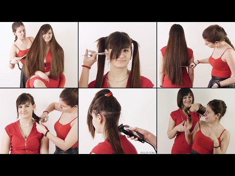 Hair2U – Emina Very Long to Bob Haircut