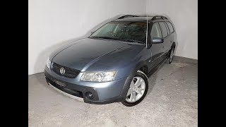 Automatic Holden Adventra CX6 4WD Wagon 2006 Review For Sale