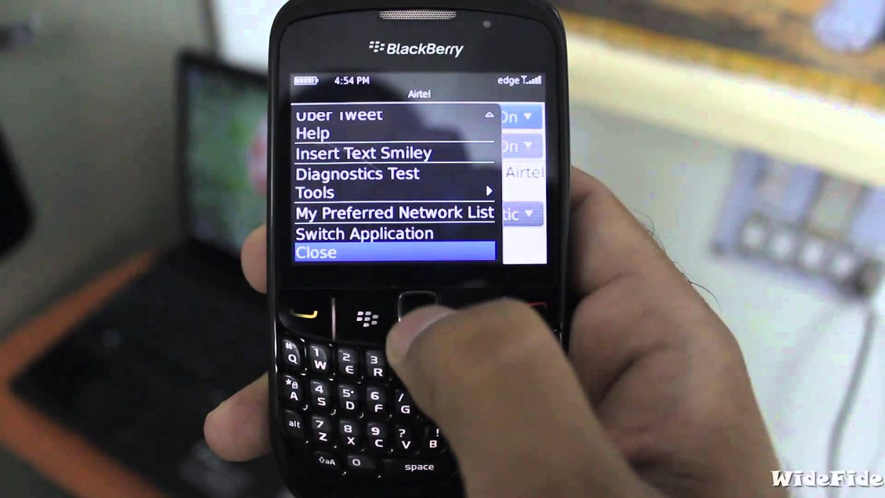 How To Test Internet Connectivity On Blackberry Use Ping