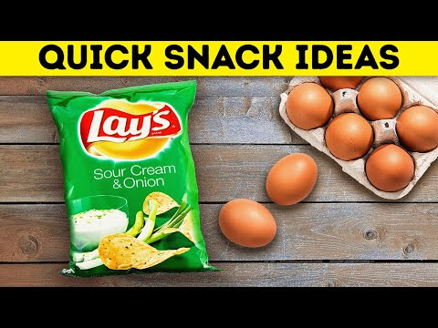 Quick And Yummy SNACK IDEAS || Delicious Recipes You Can Cook Under 5 Minutes!