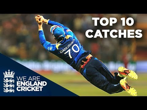 Top 10 Catches Between England And Sri Lanka | Vote For Your Favourite!