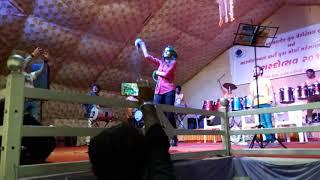 Gaman and rajal barot jorr garba rajal baro talwar baji on stage