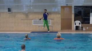 Кирилл Мерзляков - Аквааэробика мастеркласс(Aqua Swim 2015) Kirill Merzliakov - Aqua-aerobic