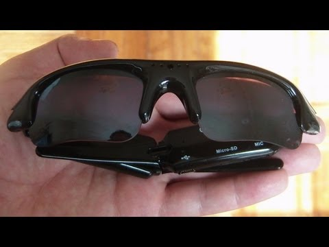The Sunglasses Spy Camera In Depth Review And Instructions