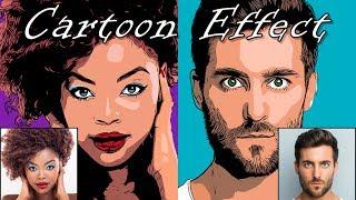 Photoshop: Cómo Transformar una Foto en un Pop Art, el Efecto de dibujos animados!