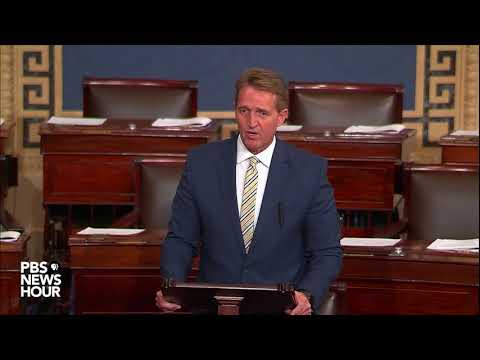 WATCH: Sen. Jeff Flake discusses Trump administration on Senate Floor
