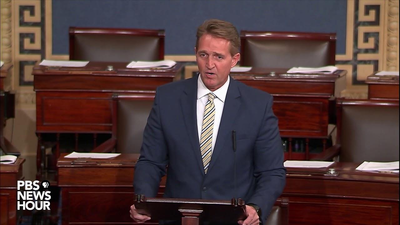watch-sen-jeff-flake-discusses-trump-administration-on-senate-floor