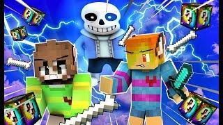 [MinecraftLuckyBlock]Undertale-Chống lại Sans !!!