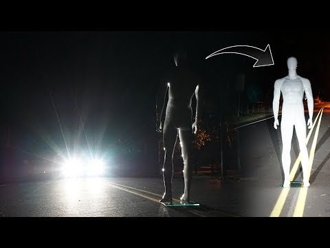 stopping a truck on clinton road with a mannequin... (part 1 of 2) *MUST WATCH*