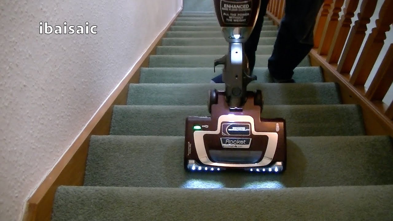 stair cleaning with the shark rocket light true pet youtube