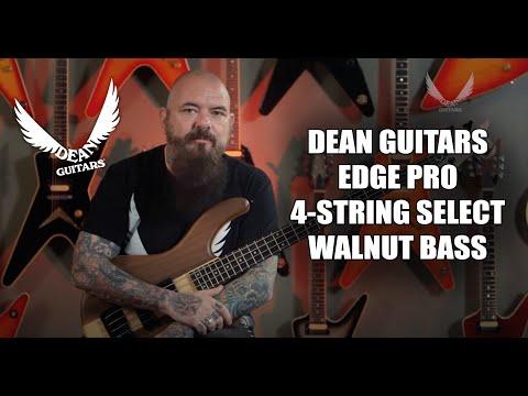 Dean Guitars Edge Pro 4-String Select Walnut Bass