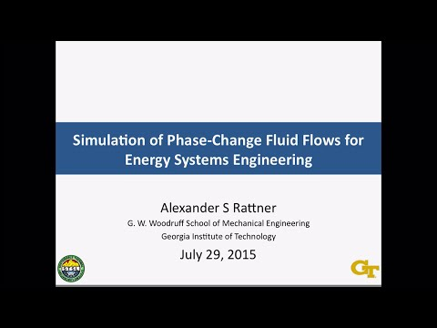 DOE CSGF 2015: Simulation of Phase-change Fluid Flows for Energy System Engineering