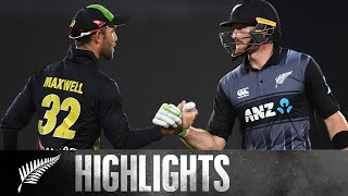 Highest Chase In T20 History | HIGHLIGHTS | Trans-Tasman Tri Series | BLACKCAPS v Australia