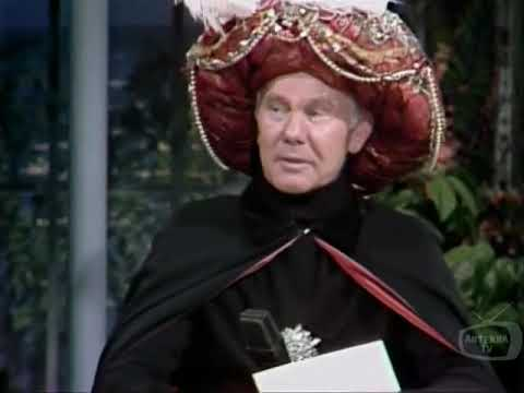 Johnny Carson   Carnac; Alan King; Charles Nelson Reilly