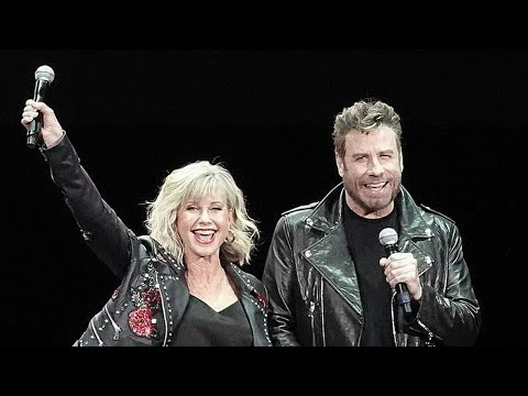 Download John Travolta And Olivia Newton-John Reunite In Iconic 'Grease' Costumes For First Time In 4 Decade